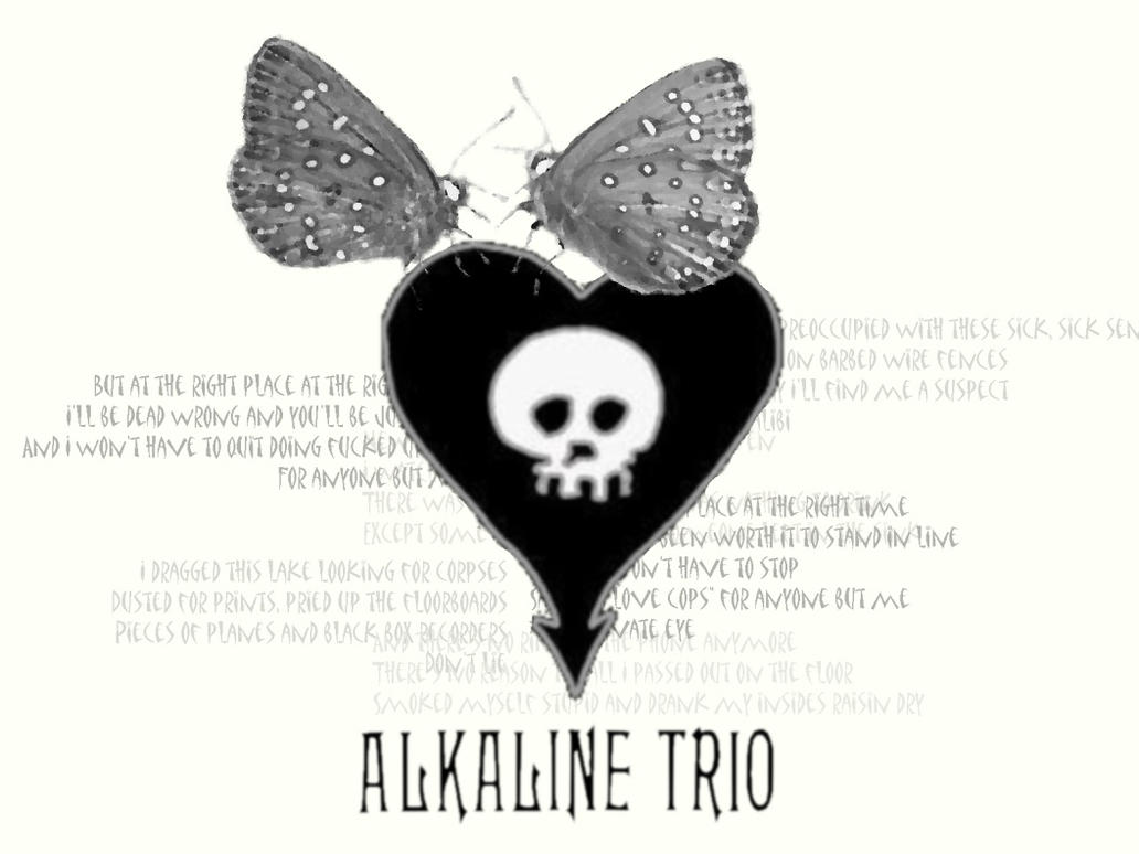 Alkaline Trio Wallpaper by PseudoCorpse