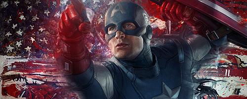 Captain America Sign by Zekua
