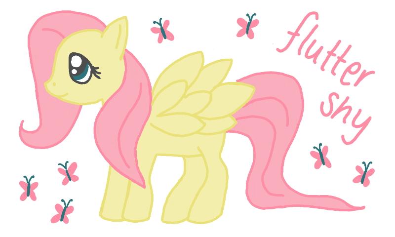 Fluttershy by Britterzbee