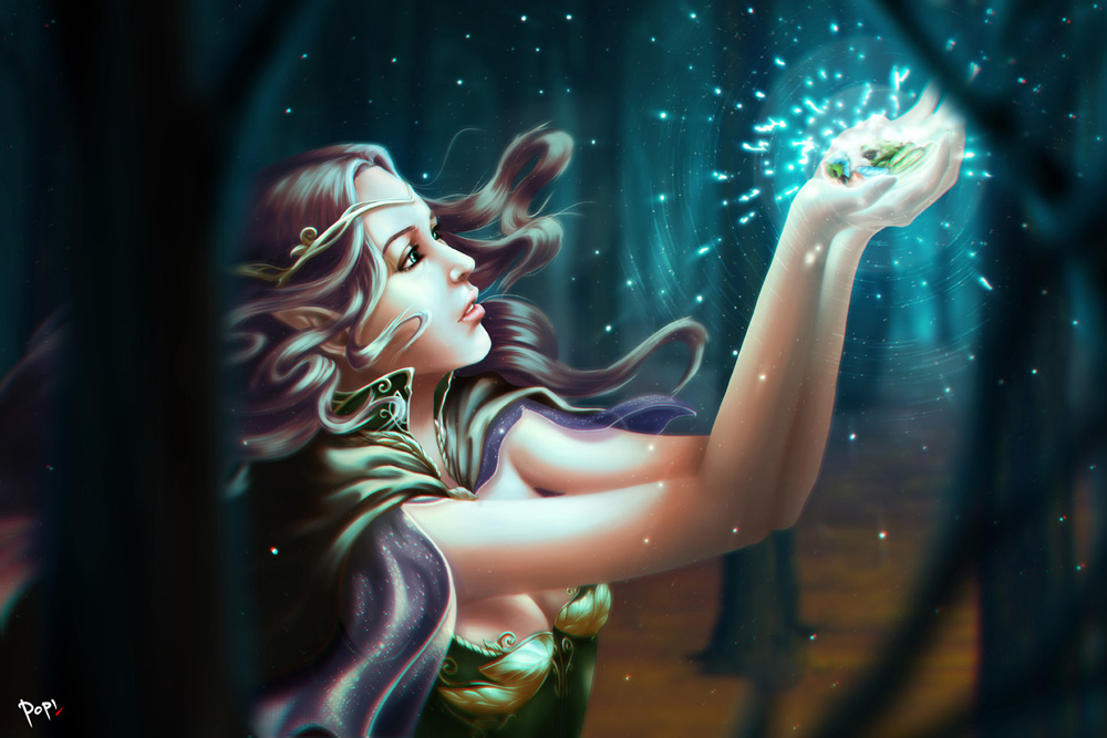 Elf Princess by pop2nd