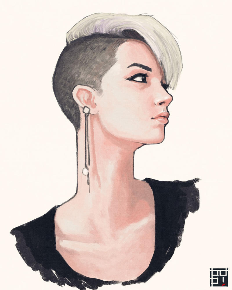 Portrait Studies 09 by pop-ipop
