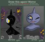 Shuppet Before After Meme