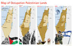 Map of Occupation Palestinian
