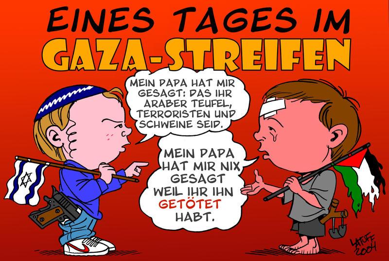Eines Tages in Gaza-Streifen by ademmm