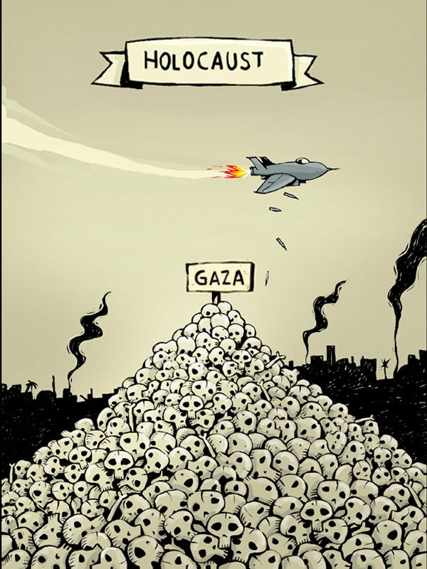 Gaza 5 by ademmm