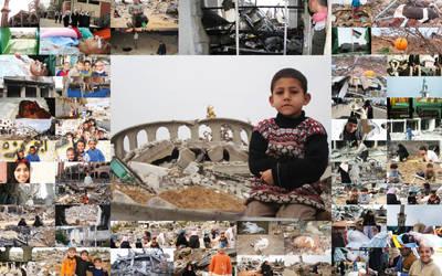 Gaza after war pics