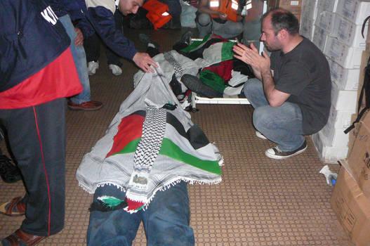 Flotilla killed aid volunteer