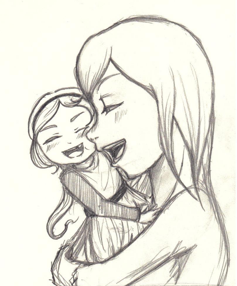 Happy Mother's Day Sketch by nana1013 on DeviantArt