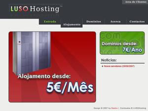 LusoHosting - Home