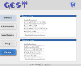 Gest Homepage by d3x7r0
