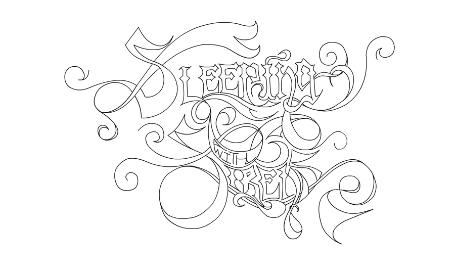 sleeping with sirens coloring pages sleeping with sirens logo by klee12 on deviantart