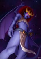 Gargoyles - Demona by JoJollyArt