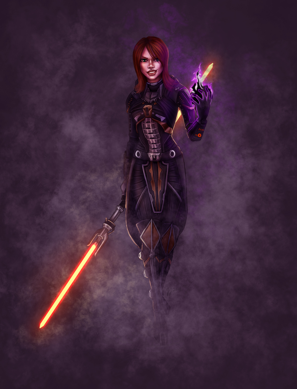 SWTOR Female Sith Warrior - Betraying the Empire and ...
