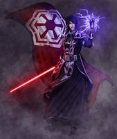 SWtoR - Commission - Darth Nefios by JoJollyArt
