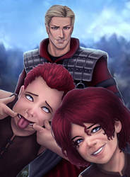 SWtoR - Commission - The Boys by JoJollyArt