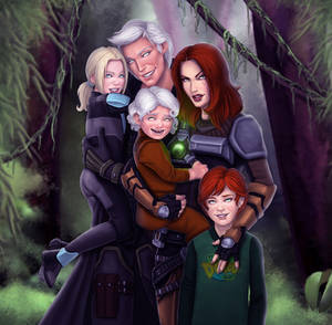 SWtoR - Commission - Family Day