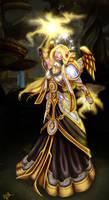 Blood Elf Priest - Maybe Done by JoJollyArt