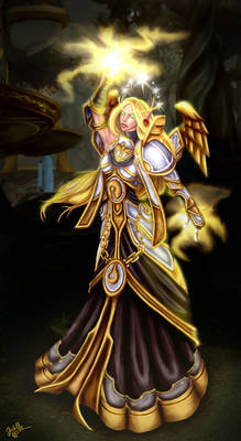 Blood Elf Priest - Maybe Done