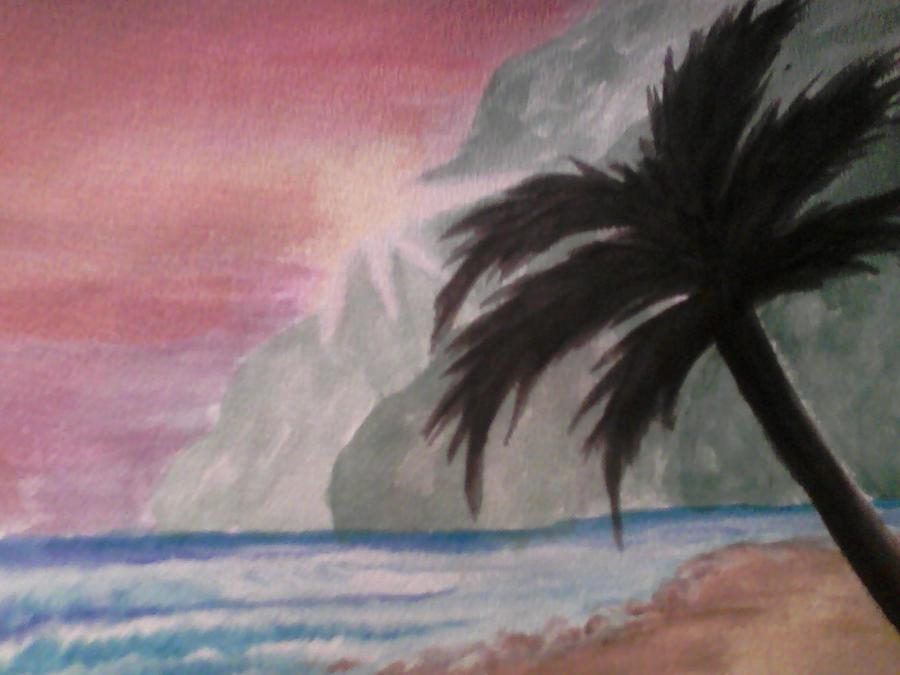Beach by WendiJoe
