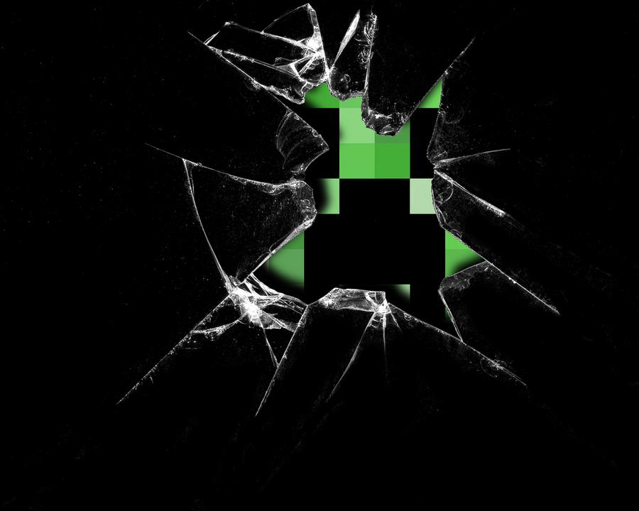 Creeper Broken Screen: Broken Creeper Screen By ThatAsianMike On DeviantArt