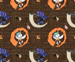 Chosen Alicorns Tiles by ThatAsianMike