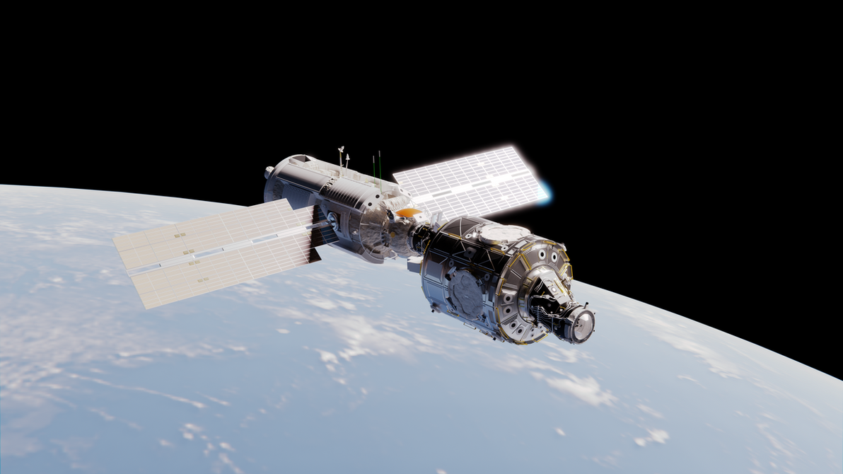 Newborn ISS by brickmack
