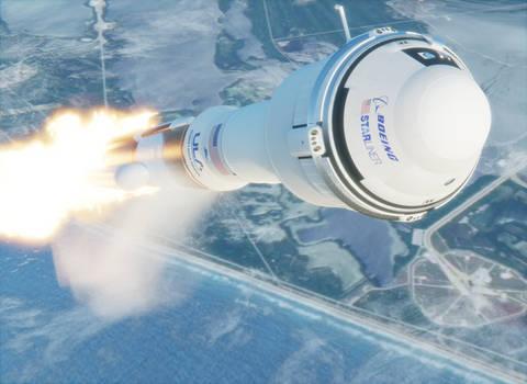 Return of manned Atlas