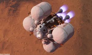 2-stage MAV ascent