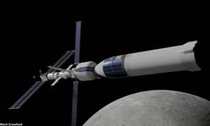 Gateway docked to Starship