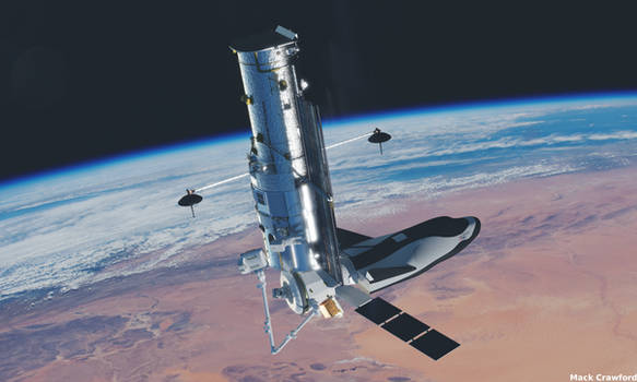 Hubble servicing in the commercial era