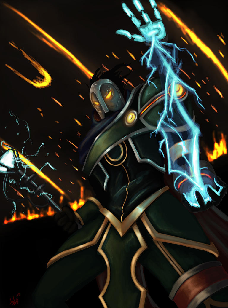 League of Legends : Viktor Comic Cover by FarahBoom on ...