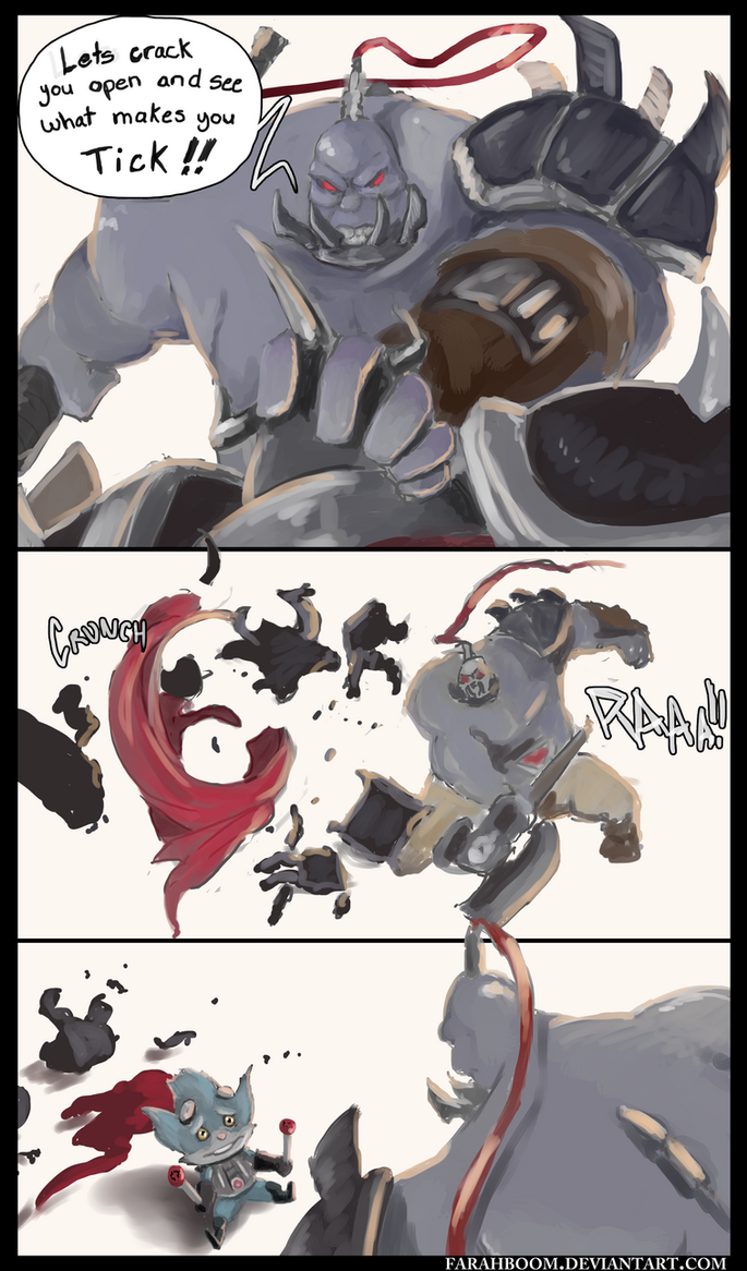 ARAM Adventures - What 'drives' you morde? by FarahBoom