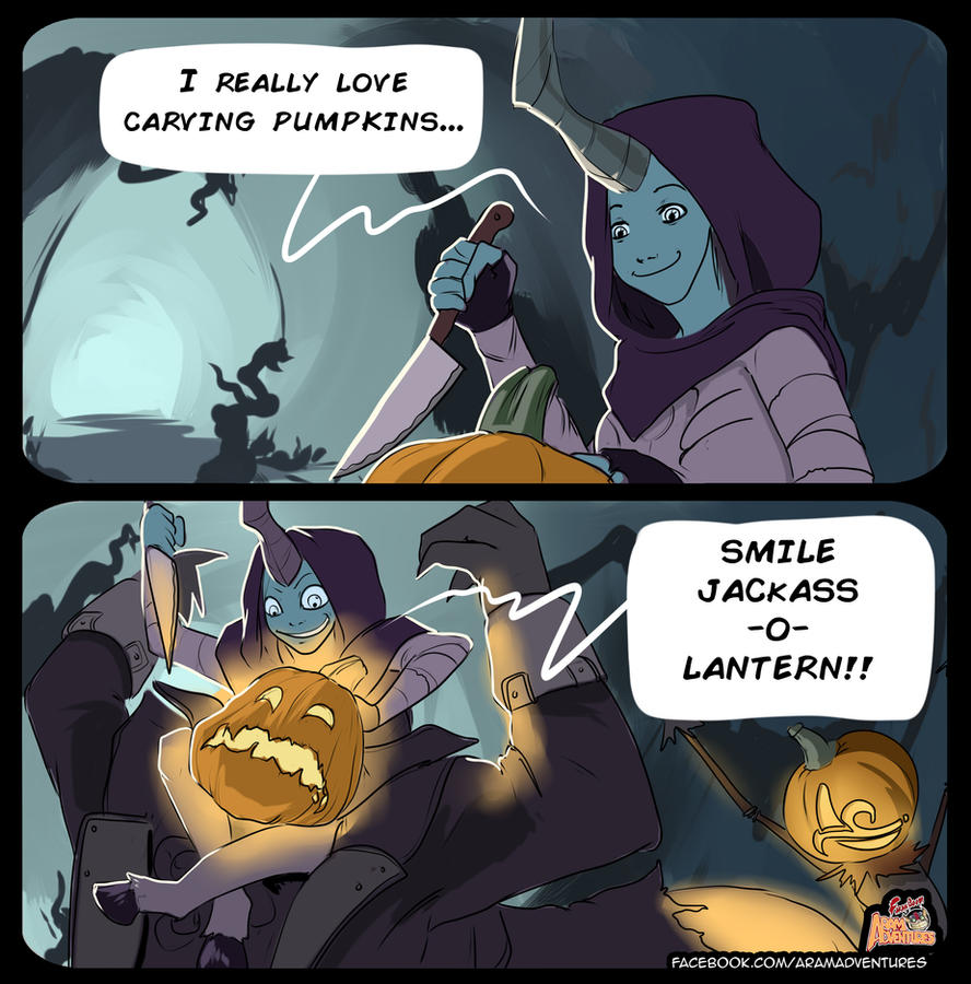 ARAM Adventures: Jackass -O- Lantern by FarahBoom