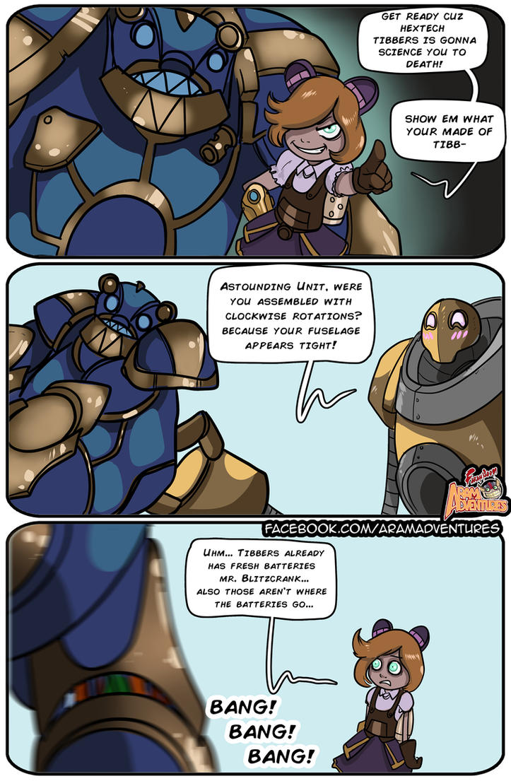 Blitzcrank ruins everything. by FarahBoom