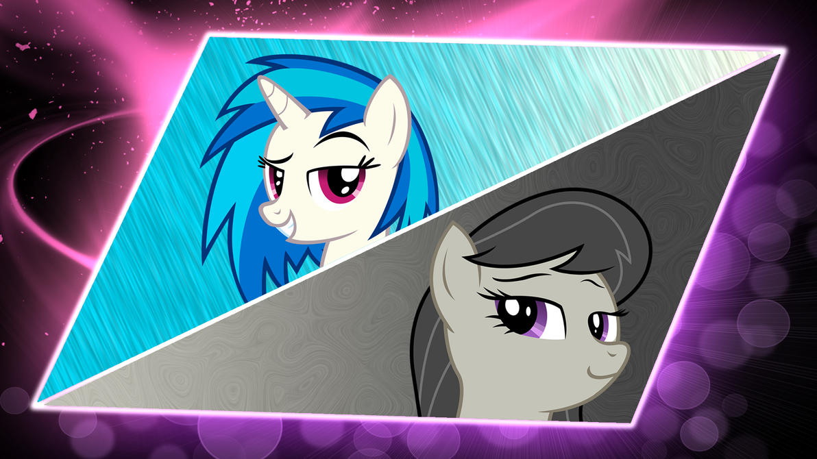 Vinyl Scratch And Octavia Melody Wallpaper By