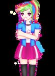 Human Rainbow Dash