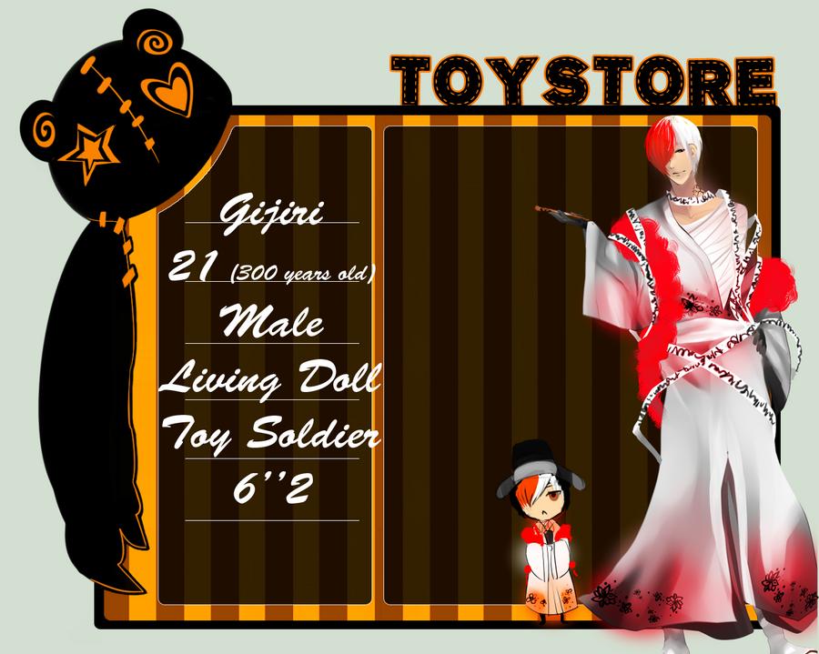 Toy Store App: Gijiri revamp by HaruLulu