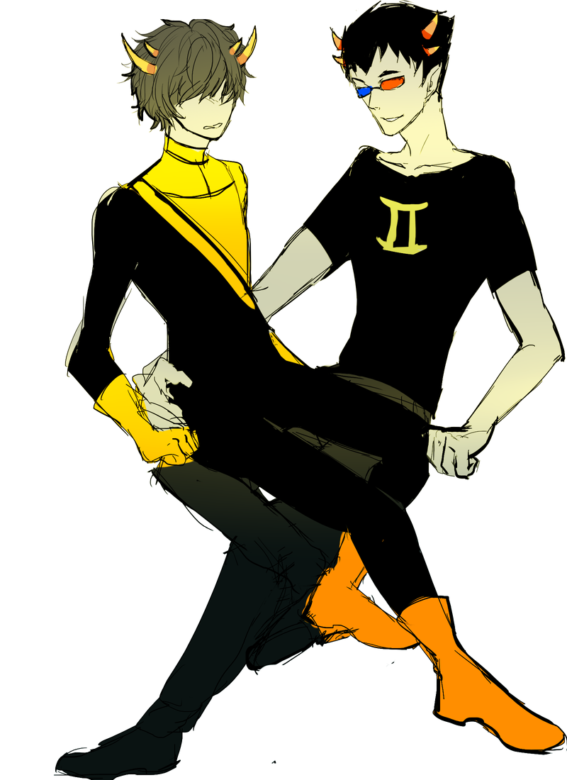 Homestuck Sollux And Mituna Mituna + Sollux by Har...
