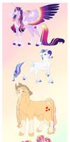 :Mane Six: Headcannon Designs