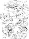 Keroro Gunso Tegaki Sketch 1