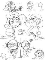 Keroro Gunso Tegaki Sketch 2 by nyu