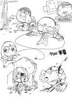 Keroro Gunso Tegaki Sketch 3 by nyu