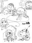 Keroro Gunso Tegaki Sketch 3