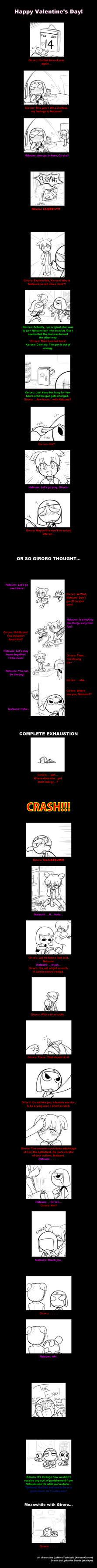 GiroNatsu Valentine's Comic by nyu