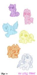 My Little Chibi Pony by nyu