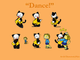 Dancing Nyu by nyu