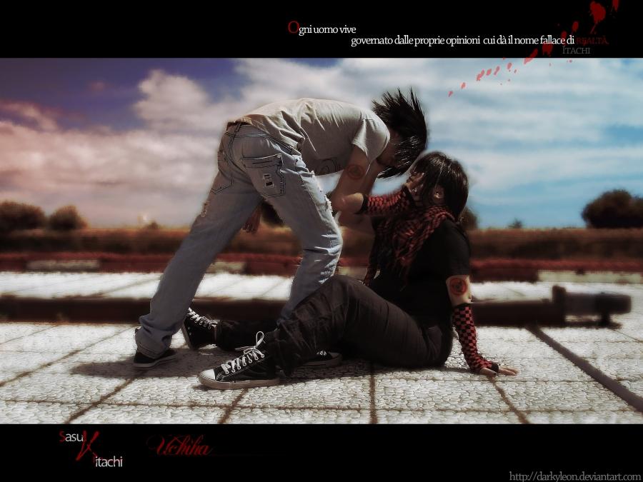 sasuke - itachi by DarkyLeon