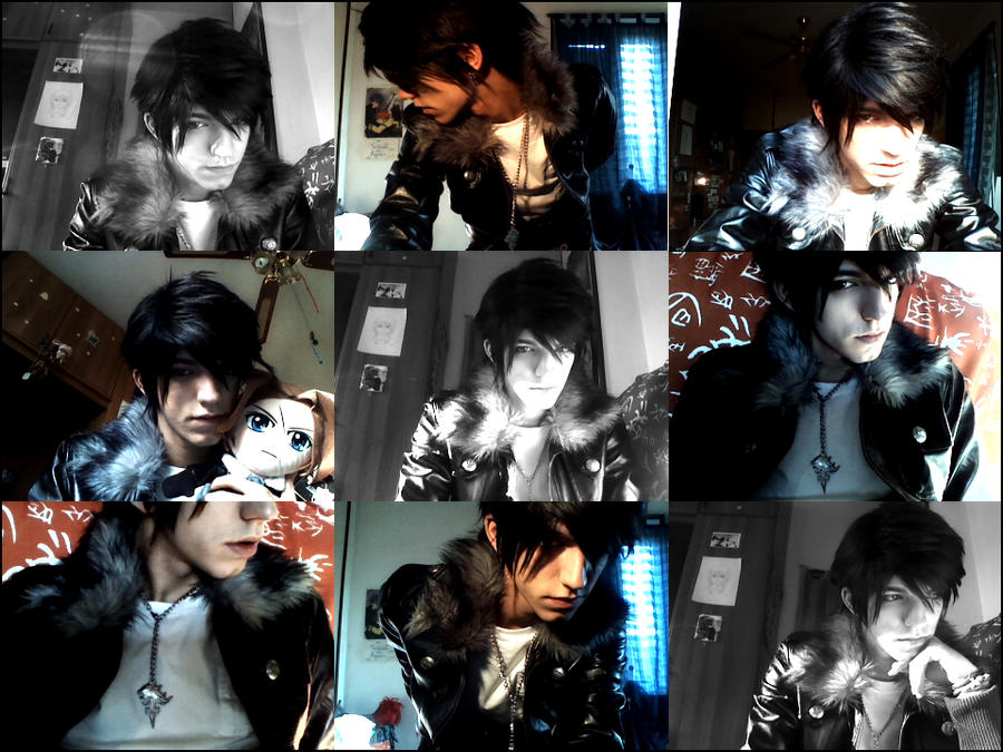 Instant Squall Collage by DarkyLeon