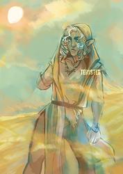 DA | Desert encounter by Teryster