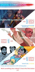 [OPEN] COMMISSIONS PRICELIST by Teryster